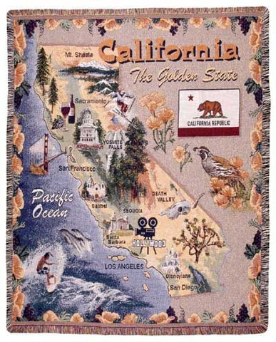 Tapestry - California Throw