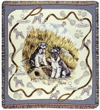 Tapestry - Schnauzer Throw
