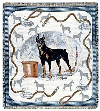 Tapestry - Doberman Throw