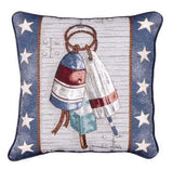 Pillow - Nautical Sampler/Buoy Pillow