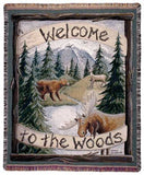 Tapestry - Welcome To The Woods Throw
