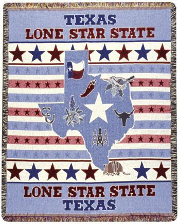 Tapestry - Lone Star State Throw