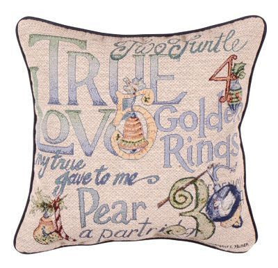 Pillow - 12 Days Of Christmas Pillow