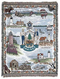 Tapestry - State Of Maine Throw