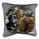 "Pillow - Dachshunds 18"" Pillow"