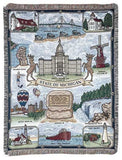 Tapestry - State Of Michigan Throw