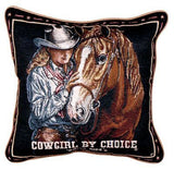Pillow - Cowgirl By Choice Pillow