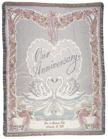 Tapestry - Our Anniversary Throw