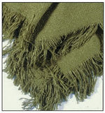 Rayon - Olive/Homestead Collection Throw