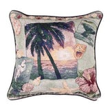 Pillow - Palm Tree Collage Pillow