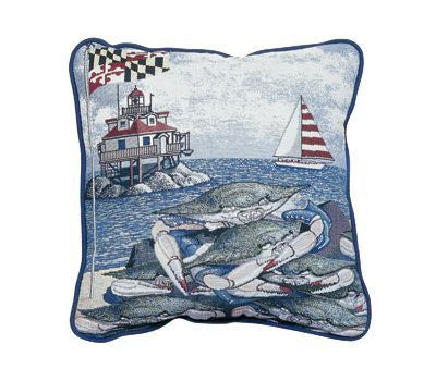 Pillow - Maryland Blue Crab Pillow