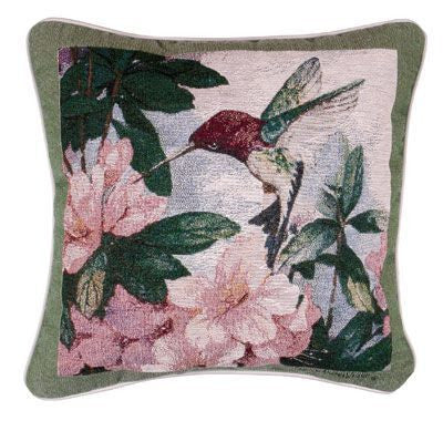 Pillow - Hummingbird Garden Pillow
