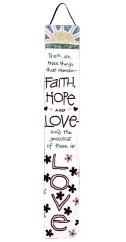 Bell Pull - Faith, Hope And Love Bellpull