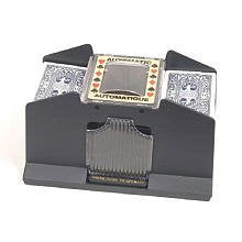 Automatic 2-4 Deck Card Shuffler Card Playing Aid Game