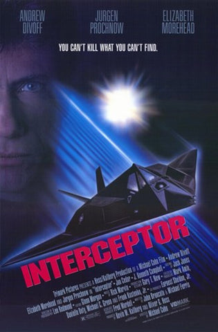 Interceptor Movie Poster Print