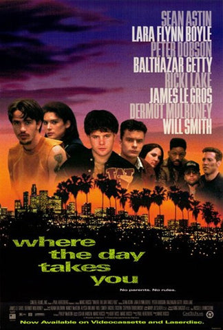 Where the Day Takes You Movie Poster Print