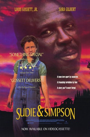Sudie and Simpson Movie Poster Print