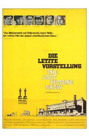 The Last Picture Show Movie Poster Print
