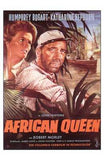 The African Queen Movie Poster Print