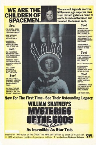 Mysteries of the Gods Movie Poster Print