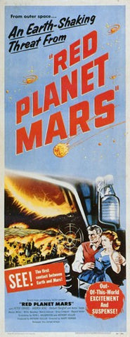 Red Planet Mars Movie Poster Print
