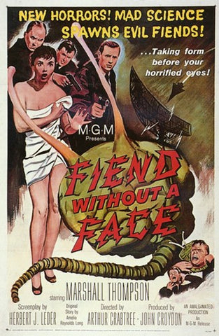Fiend Without a Face Movie Poster Print