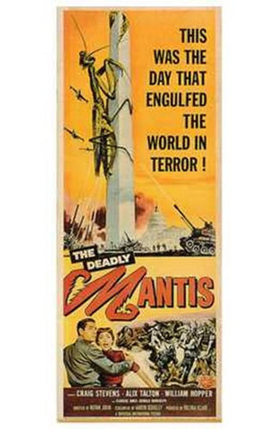 Deadly Mantis Movie Poster Print