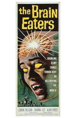 The Brain Eaters Movie Poster Print