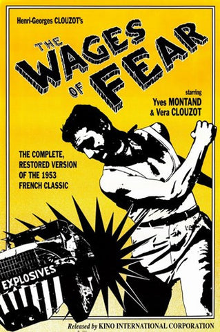 Wages of Fear Movie Poster Print