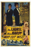Way Out West Movie Poster Print