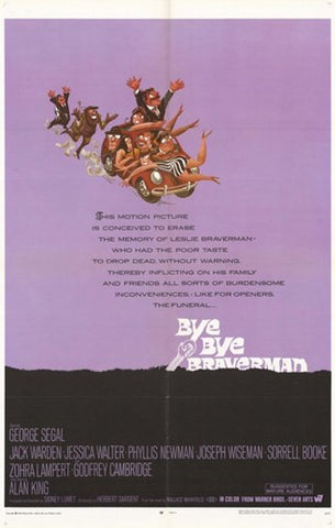 Bye Bye Braverman Movie Poster Print