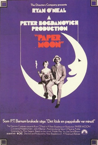 Paper Moon Movie Poster Print