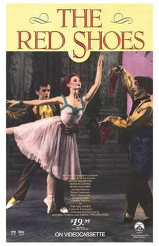 The Red Shoes Movie Poster Print