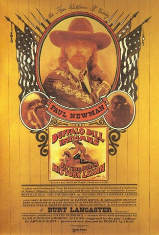 Buffalo Bill the Indians Movie Poster Print