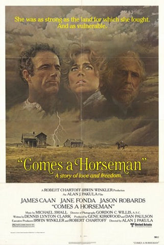 Comes a Horseman Movie Poster Print