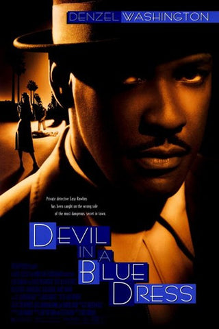 Devil in a Blue Dress Movie Poster Print