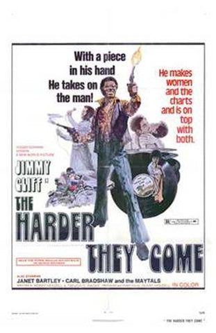 The Harder They Come Movie Poster Print