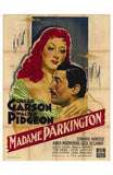 Mrs Parkington Movie Poster Print