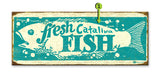 Fresh Fish Wood 17x44