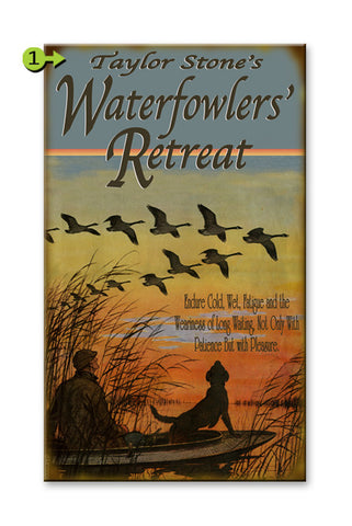 Waterfowlers' Retreat Metal 23x39