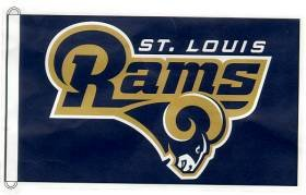 NFL St. Louis Rams 3-by-5 foot Flag
