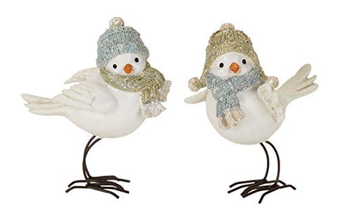 Melrose Bird with Hat (Set of 4) 5