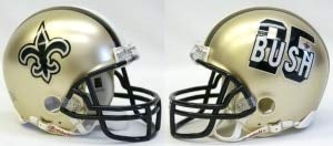 Riddell NFL New Orleans Saints Helmet Mini VSR4, One Size, Team Color