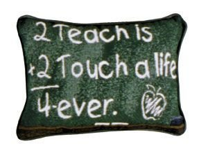 Simply 2 Teach Is 2 Touch Pillow