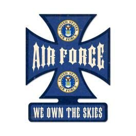 Air Force Vintage Sign 15X19