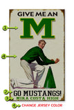 Male Cheerleader (High Schools Only) Metal 23x39