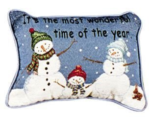 Simply Its The Most Wonderful Time Pillow