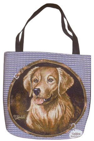 Simply Golden Retriever Tote Bag