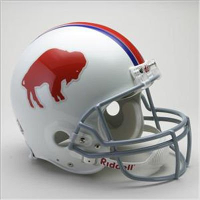 Riddell Buffalo Bills AFL 50th Anniversary Replica Mini Helmet
