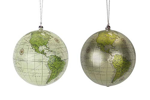 Melrose Globe Ornament (Set of 4) 4.5